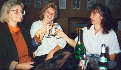 Der Vorstand des TKK 1990